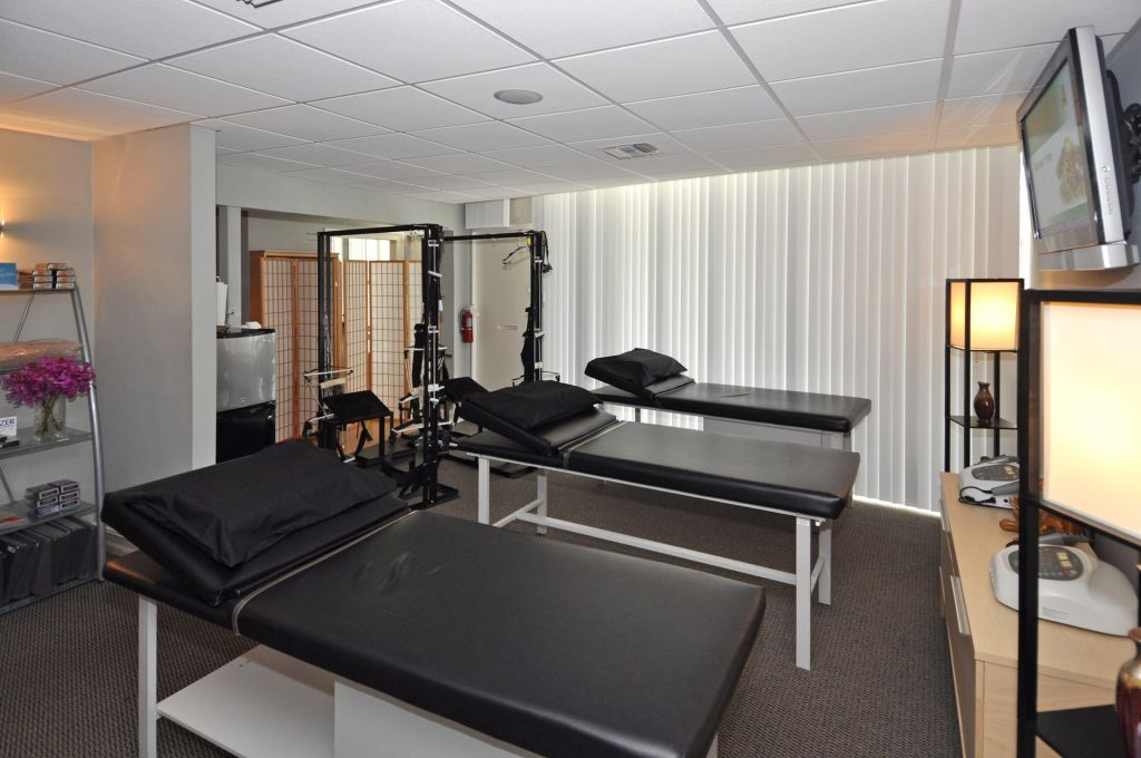 ft lauderdale chiropractic treatment room
